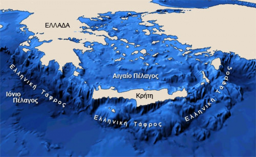 Avoiding ship strikes with cetaceans in the Hellenic Trench